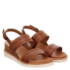 Ara, Valencia, Glattleder-Sandalette in braun für Damen