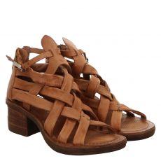 As 98 (airstep), Kenya, Glattleder-Sandalette in braun für Damen