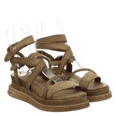 As 98 (airstep), Lagos 2.0, Glattleder-Sandalette in grün für Damen