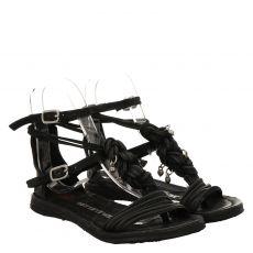 As 98 (airstep), Ramos, Glattleder-Sandalette in schwarz für Damen