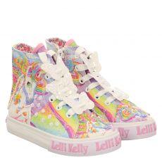 Lelli Kelly, Unicorn Mid, Leinen-Halbschuh in mehrfarbig für Mädchen