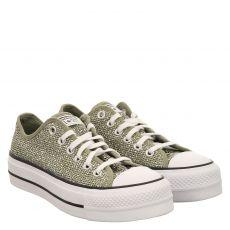 Converse, Chuck Taylor Open Platform, Sneaker in grün für Damen