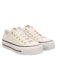 Converse, Chuck Taylor Open Platform, Sneaker in weiß für Damen