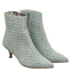 Ras kurzer Sonstige-Stiefel in blau für Damen