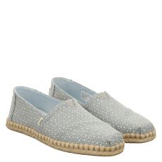 Toms, Alpargata, Slipper in blau für Damen