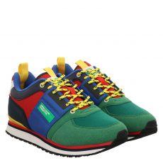 United Colors Of Benetton sportiver Kunstleder-Schnürer in mehrfarbig für Herren