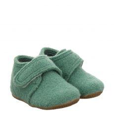 Livingkitzbühel Wolle/Schurwolle-Hausschuh in grün für Mädchen