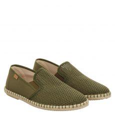 Verbenas, Tom, sportiver Textil-Slipper in grün für Herren