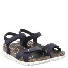 Panama Jack Nubukleder-Sandalette in blau für Damen