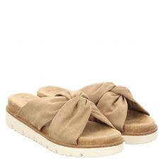 S.oliver Schuhe Textil-Pantolette in beige für Damen