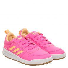 Adidas, Tensaur K, Kunstleder-Halbschuh in pink für Mädchen