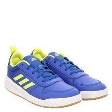 Adidas, Tensaur K, Kunstleder-Halbschuh in blau für Mädchen