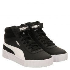 Puma, Carina Mid, Sneaker in schwarz für Damen