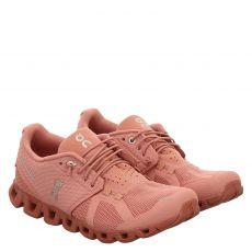 On, Cloud Monochrome, Sneaker in rosé für Damen