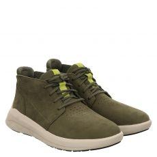 Timberland, Bradstreet Ultra, sportiver Nubukleder-Stiefel in grün für Herren