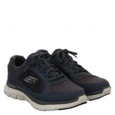 Skechers, Flex Advantage 4.0 True Clarit, Sportschuh in blau für Herren