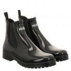 Hugo, Tabita Rain Bootie, kurzer High-Tech-Stiefel in schwarz für Damen