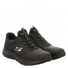 Skechers, Summits Itz Bazik, Slipper in schwarz für Damen