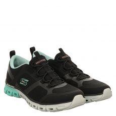 Skechers, Glide Step Dashing Days, Sneaker in schwarz für Damen