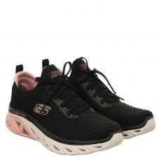 Skechers, Glide Step Sport Level Up, Sneaker in schwarz für Damen