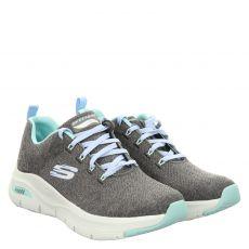 Skechers, Arch Fit Comfy Wave, Sneaker in grau für Damen