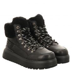 Bogner, Antwerp L 6 A, kurzer Glattleder-Stiefel in schwarz für Damen