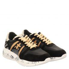 White Premiata Sneaker in schwarz für Damen