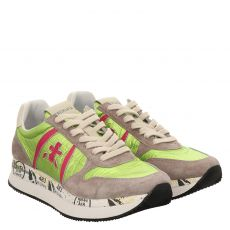White Premiata, Grau, Sneaker in grün für Damen
