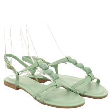 Lieblingspaar Kunstleder-Sandalette in grün für Damen