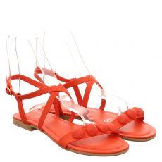 Lieblingspaar Kunstleder-Sandalette in rot für Damen