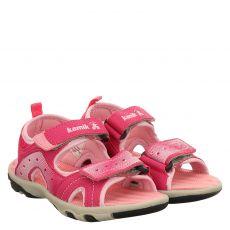 Kamik, Dune, Kunstleder-Sandale in pink für Mädchen