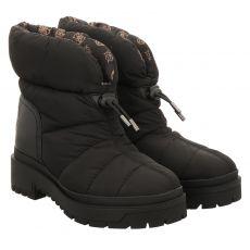 Guess kurzer Textil-Stiefel in schwarz für Damen