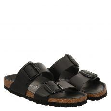 Lieblingspaar Glattleder-Fußbettschuh in schwarz für Damen