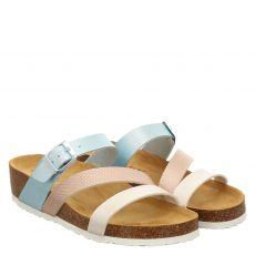 Lieblingspaar Kunstleder-Fußbettschuh in mehrfarbig für Damen