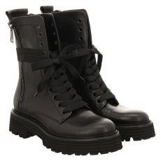 Kennel & Schmenger, Spice, kurzer Glattleder-Stiefel in schwarz für Damen