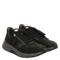 Gabor Lady, Rolling Soft, Sneaker in schwarz für Damen
