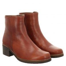 Gabor kurzer Glattleder-Stiefel in braun für Damen