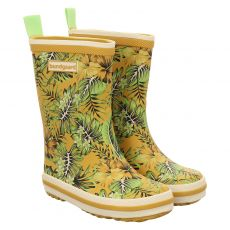 Bundgaard, Classic Rubber Boots, Regenstiefel in gelb für Mädchen