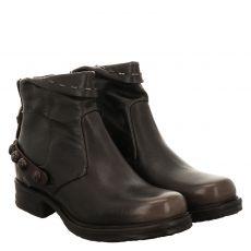 As 98 (airstep), Saintec, kurzer Glattleder-Stiefel in grau für Damen