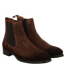 Magnanni eleganter Veloursleder-Stiefel in braun für Herren