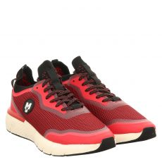 La Strada sportiver Textil-Slipper in rot für Herren