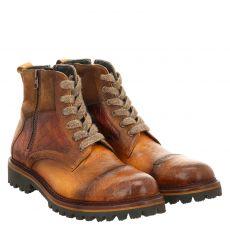 Fraipe, Vallone, eleganter Glattleder-Stiefel in braun für Herren