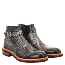 Fraipe, Bego, eleganter Glattleder-Stiefel in grau für Herren