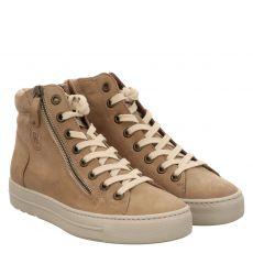 Paul Green, 0069-4024-079/hightop-pauls, Sneaker in beige für Damen