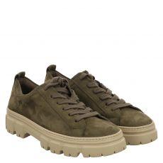 Paul Green, 0069-5081-049/sneaker, Schnürer in grün für Damen