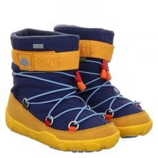 Affenzahn, Snow Witty Tukan, Moonboots in blau für Mädchen