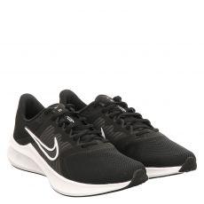 Nike, Downshifter, sportiver Textil-Schnürer in schwarz für Herren