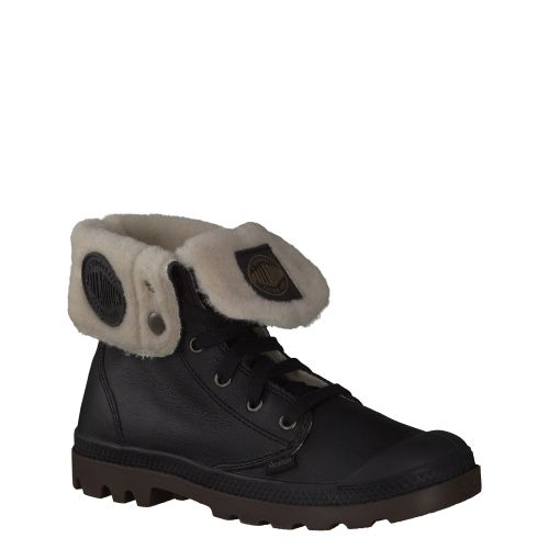 PALLADIUM, BAGGY LEATHER S, SCHWARZ