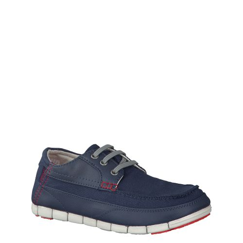 CROCS, STRETCH SOLE LACE UP, BLAU