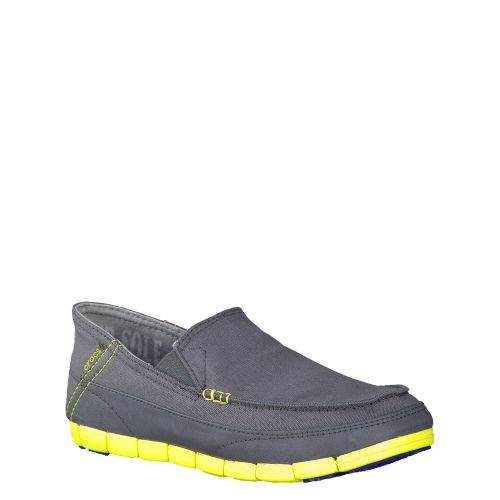 CROCS, STRETCH SOLE LOAFER, GRAU